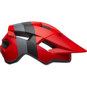 Bell Spark Helmet Kinder downdraft matte crimson/black